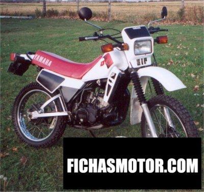 Imagen moto Yamaha dt 125 lc año 1983