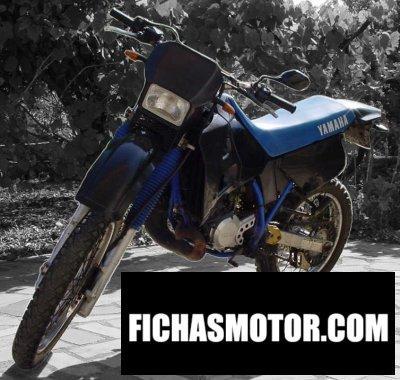 Ficha técnica Yamaha dt 125 r 1991