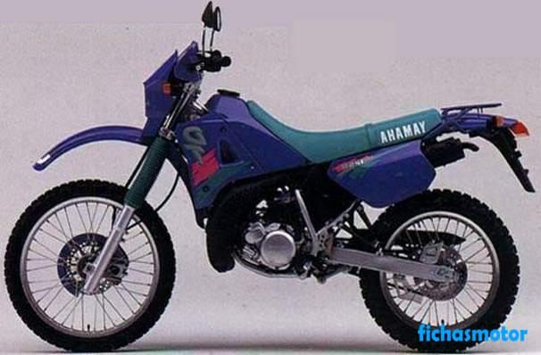 Imagen moto Yamaha dt 125 r año 1992