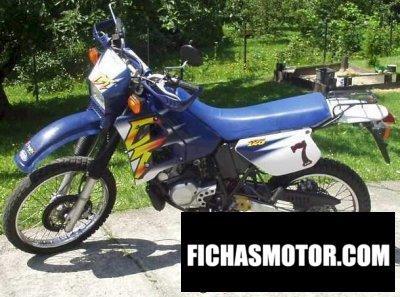 Ficha técnica Yamaha dt 125 r 1997