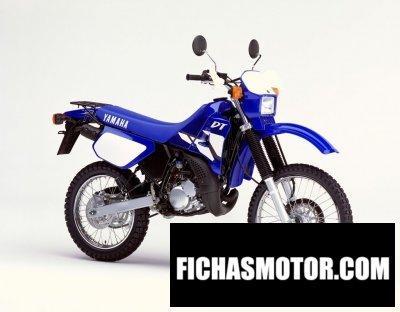 Ficha técnica Yamaha dt 125 r 2002