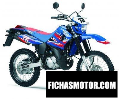 Ficha técnica Yamaha dt 125 r mx everts 2006
