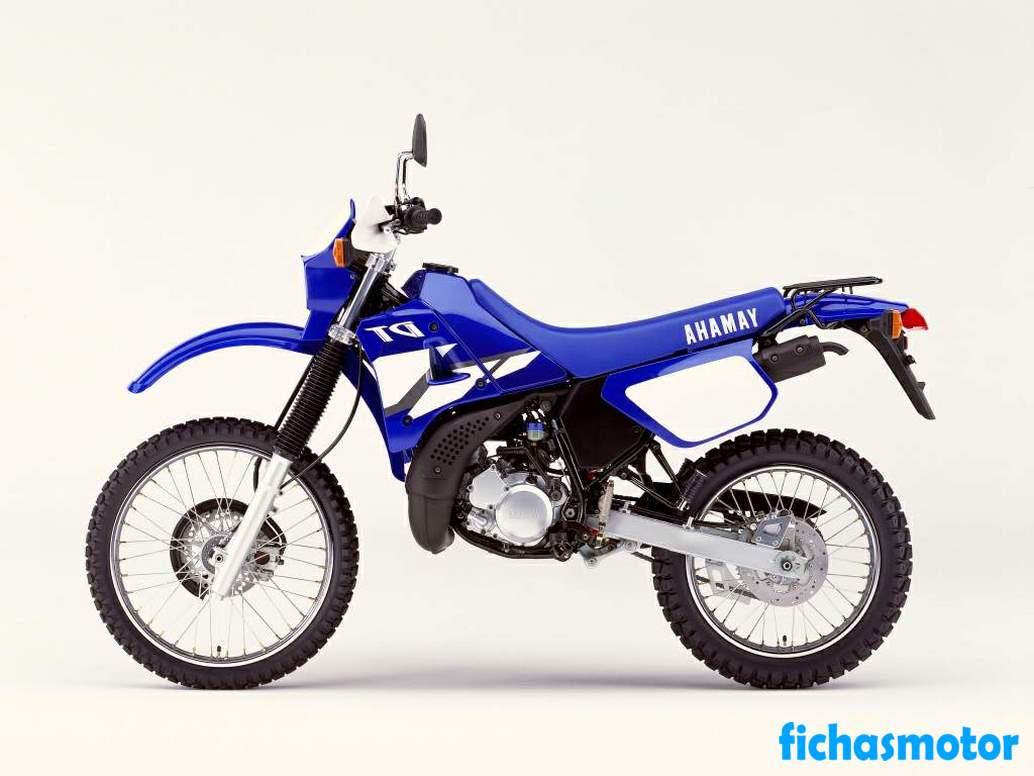 Ficha técnica Yamaha dt 125 re 2007