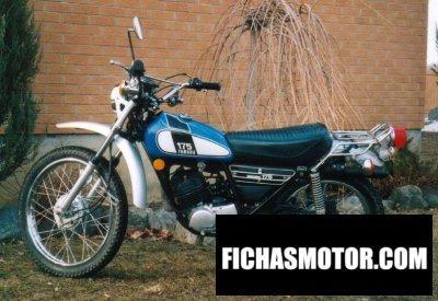 Ficha técnica Yamaha dt 175 1975