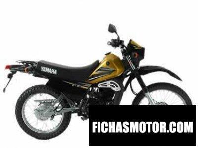 Imagen moto Yamaha dt 175 año 2004