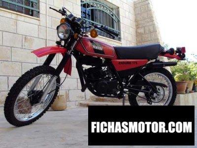 Imagen moto Yamaha dt 175 mx año 1978