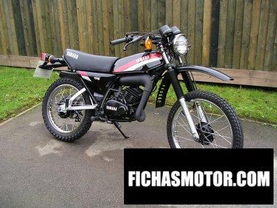 Ficha técnica Yamaha dt 175 mx 1980