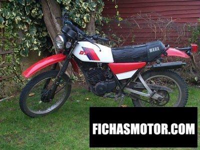 Ficha técnica Yamaha dt 175 mx 1981
