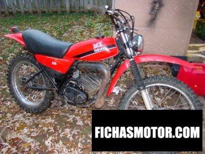 Ficha técnica Yamaha dt 175 mx 1982