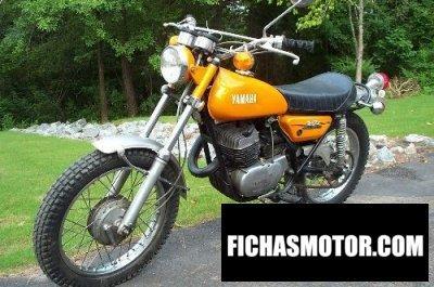 Ficha técnica Yamaha dt 250 1972