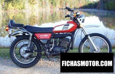 Imagen moto Yamaha dt 250 año 1975