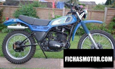 Ficha técnica Yamaha dt 250 mx 1978