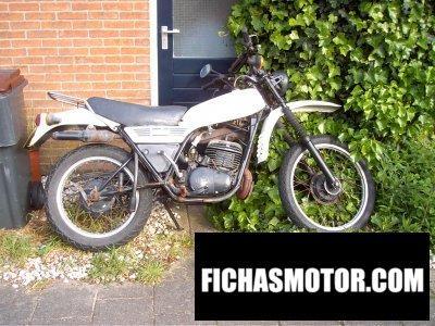 Ficha técnica Yamaha dt 250 mx 1982