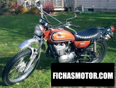 Ficha técnica Yamaha dt 360 1973
