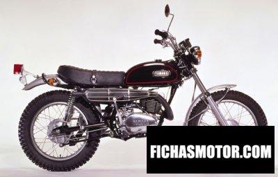 Imagen moto Yamaha dt 360 año 1975