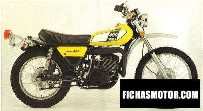 Imagen moto Yamaha dt 400 año 1975