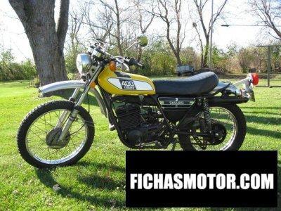 Ficha técnica Yamaha dt 400 1976