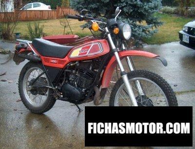Ficha técnica Yamaha dt 400 1977