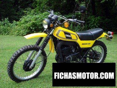 Ficha técnica Yamaha dt 400 mx 1978