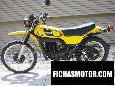 Ficha técnica Yamaha dt 400 mx 1979