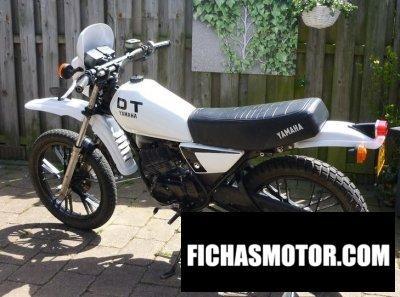 Imagen moto Yamaha dt 50 mx año 1981