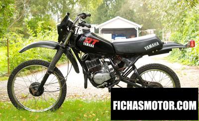 Ficha técnica Yamaha dt 50 mx 1983