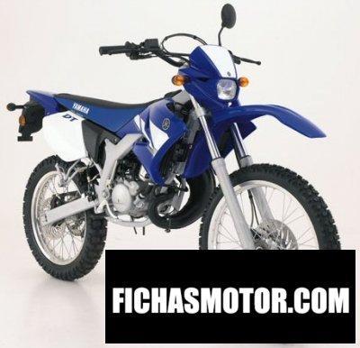 Ficha técnica Yamaha dt 50 r 2004