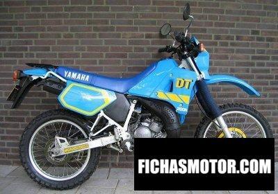 Imagen moto Yamaha dt200r año 1991