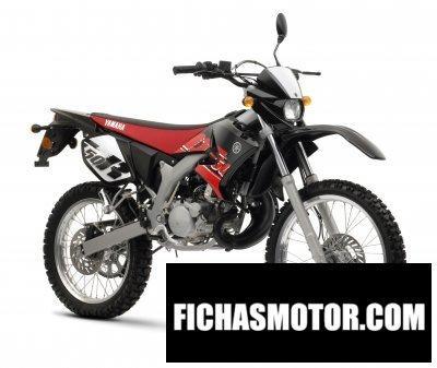 Ficha técnica Yamaha dt50r 2008