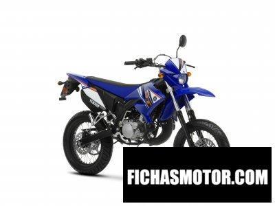 Ficha técnica Yamaha dt50x 2012