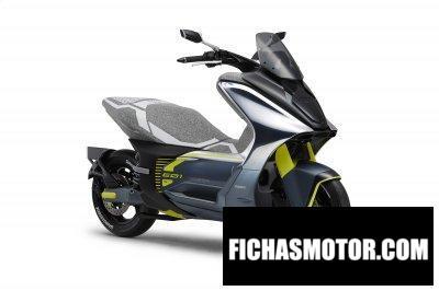 Imagen moto Yamaha E01 Genesis año 2020