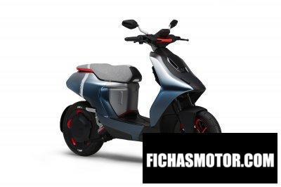 Ficha técnica Yamaha E02 Genesis 2020
