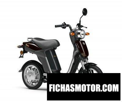 Imagen moto Yamaha ec-03 año 2012