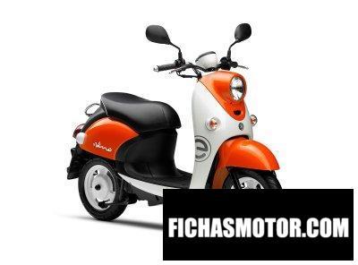 Ficha técnica Yamaha eVino 2020