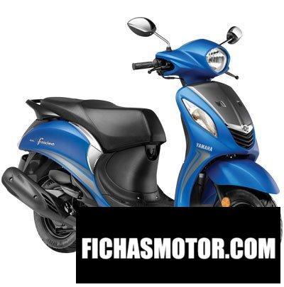 Ficha técnica Yamaha fascino 2018