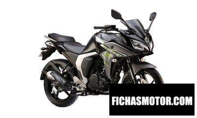 Ficha técnica Yamaha fazer 2017