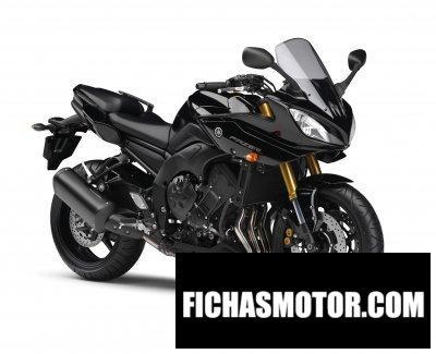 Imagen moto Yamaha fazer8 año 2011