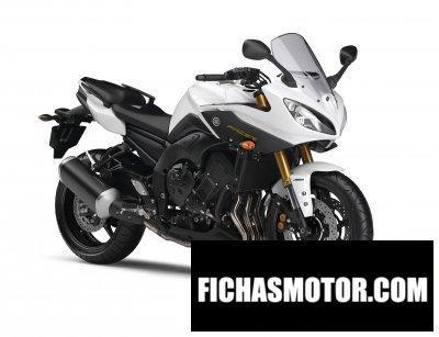 Ficha técnica Yamaha fazer8 2012