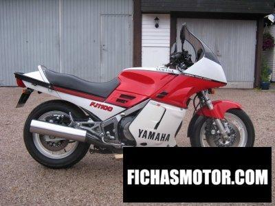 Ficha técnica Yamaha fj 1100 1984