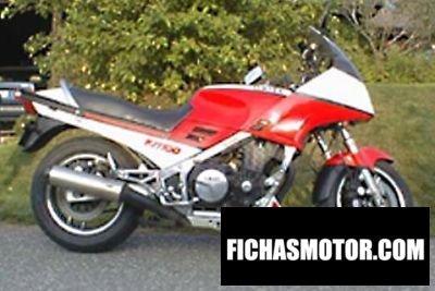 Ficha técnica Yamaha fj 1100 1985
