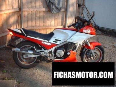Ficha técnica Yamaha fj 1200 1987