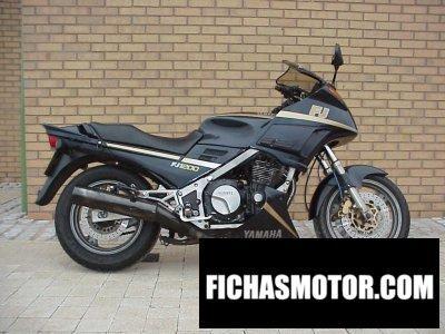 Ficha técnica Yamaha fj 1200 1988