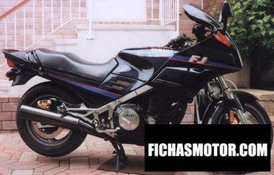 Ficha técnica Yamaha fj 1200 1990