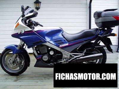 Ficha técnica Yamaha fj 1200 1991