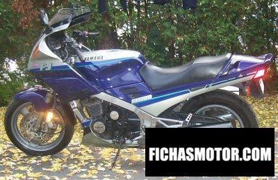 Imagen moto Yamaha fj 1200 año 1992