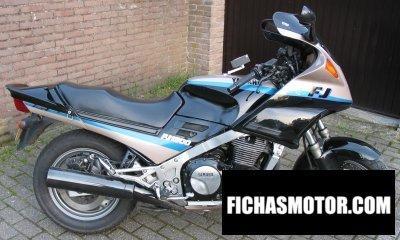 Ficha técnica Yamaha fj 1200 1993