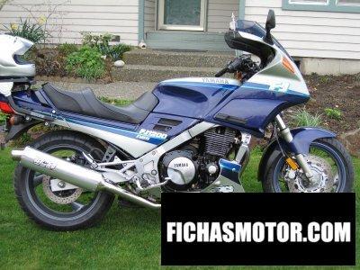 Ficha técnica Yamaha fj 1200 1994