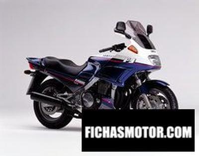 Ficha técnica Yamaha fj 1200 abs 1997