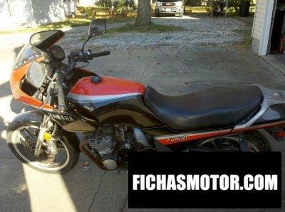 Ficha técnica Yamaha fj 600 1984