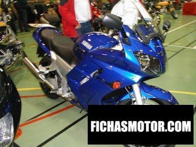 Ficha técnica Yamaha fjr 1300 2001
